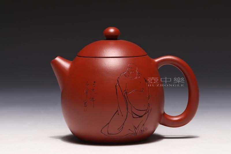 宜兴紫砂壶-龙蛋壶-趣淘壶