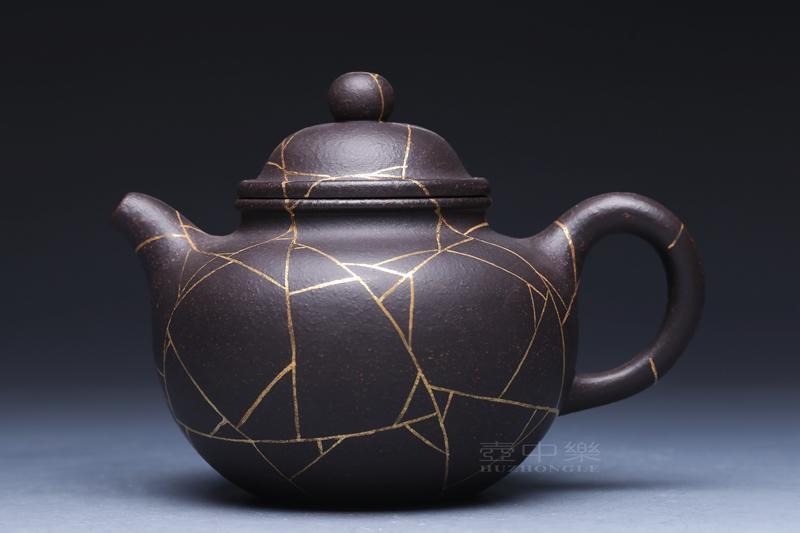 宜兴紫砂壶-掇球壶-趣淘壶