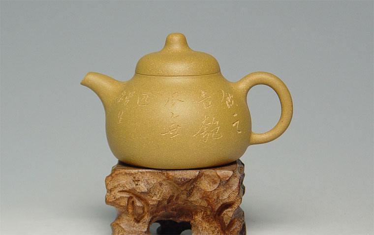 宜兴紫砂壶-匏瓜壶-趣淘壶
