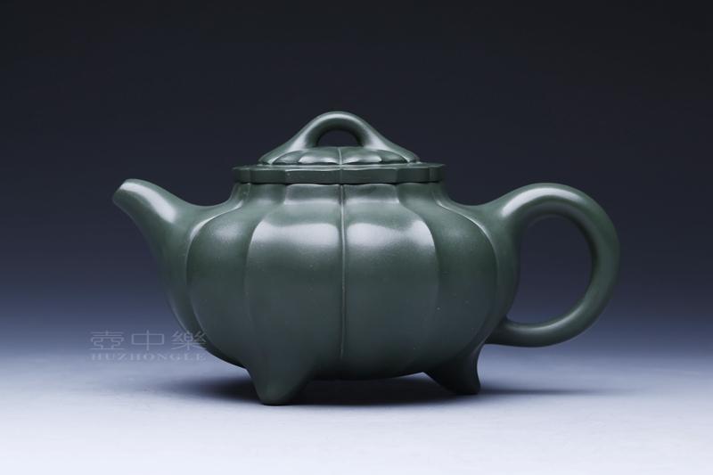 宜兴紫砂壶-菱花壶-趣淘壶