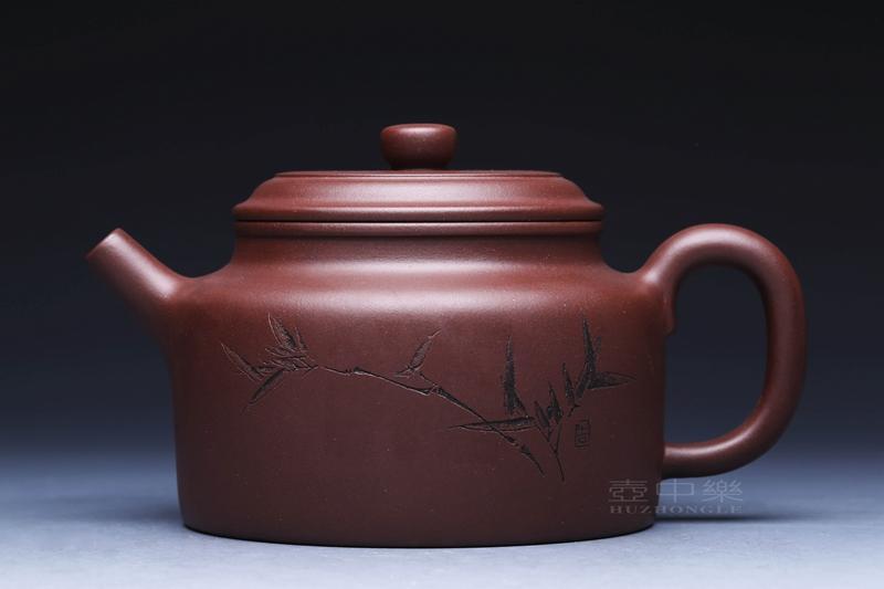 宜兴紫砂壶-德钟壶-趣淘壶
