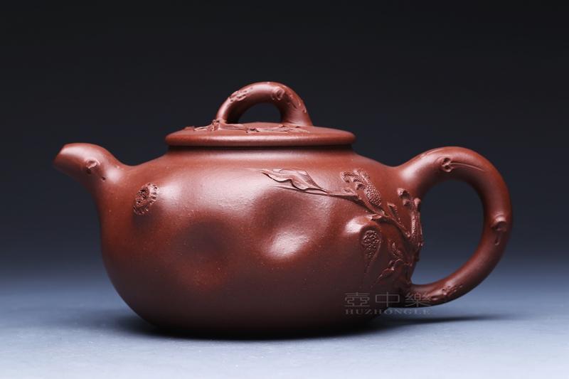 宜兴紫砂壶-佛手壶-趣淘壶