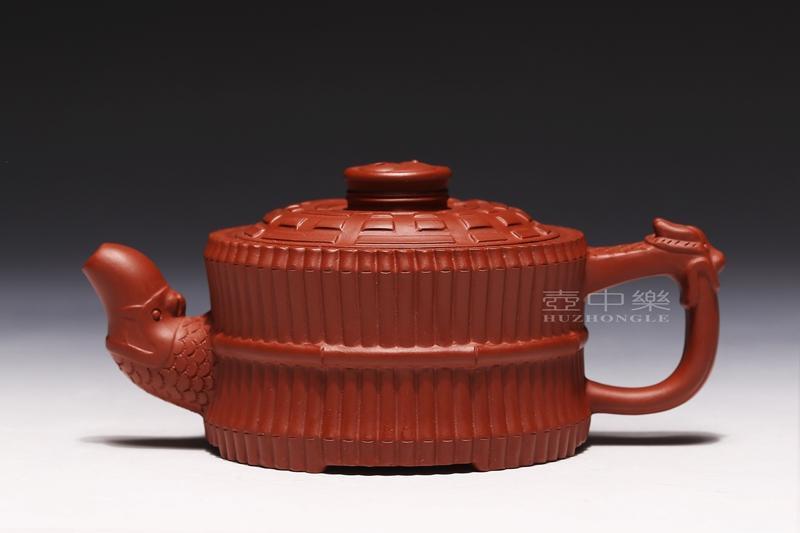 宜兴紫砂壶-龙头一捆竹-趣淘壶