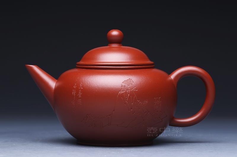 宜兴紫砂壶-水平壶-趣淘壶