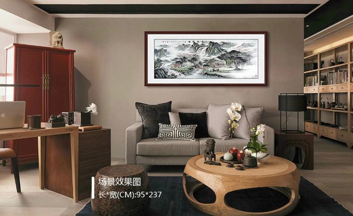 现代简约客厅沙发装饰画 哪种Style是你的菜?