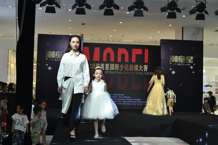 潮童星国际少儿超模大赛太原站完美落幕直赴杭州