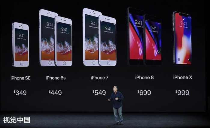 iphonex和iphone8区别如何?