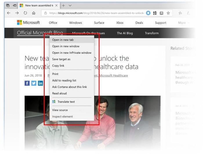 微软向快速更新通道推送Win10 build 17711的照片 - 4