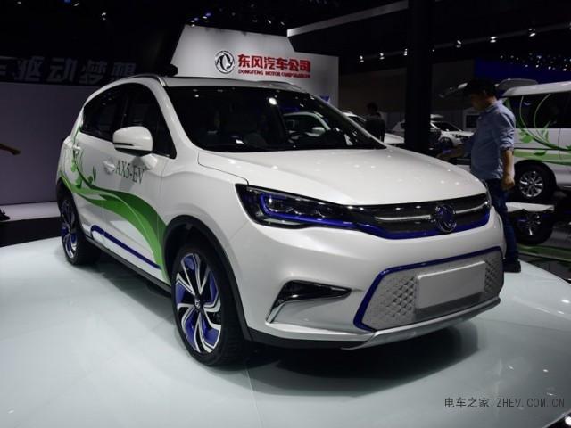东风风神AX5纯电动版本 新车续航里程大于300km