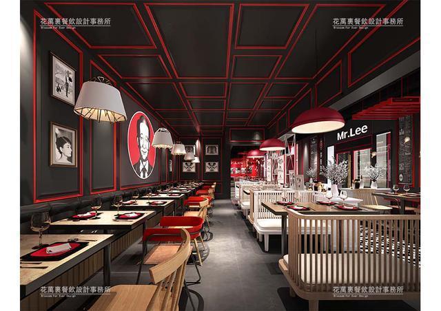 工业风与品牌相融合,北京李先生牛肉面清华店设