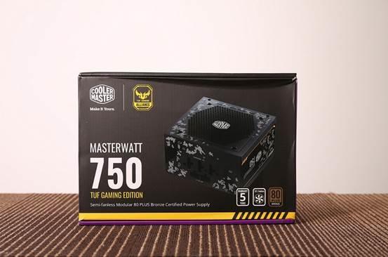 低负载风扇停转!酷冷至尊750 TUF Gaming Edition电源评测的照片 - 1