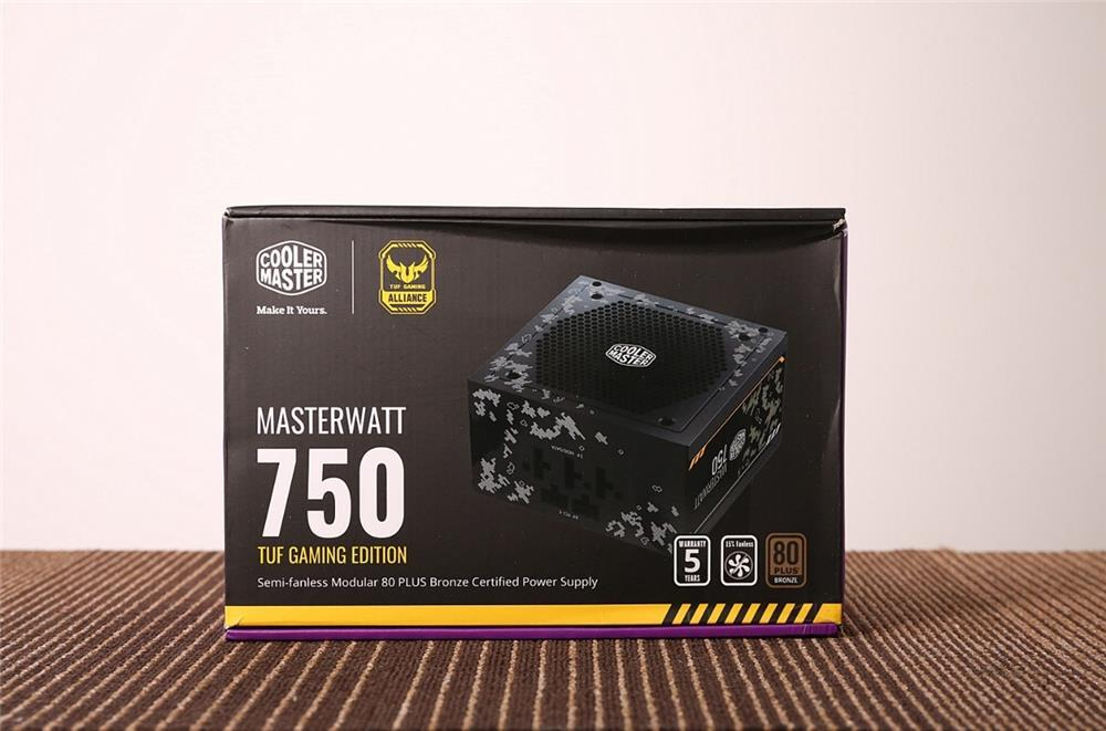 低负载风扇停转!酷冷至尊750 TUF Gaming Edition电源评测的照片 - 5