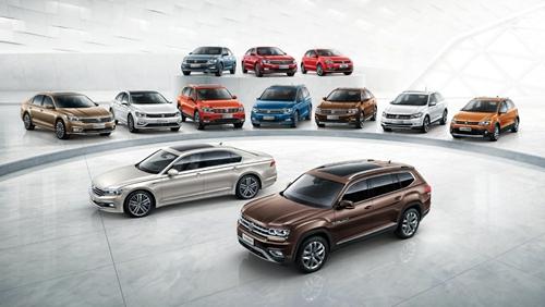 半年销售超85.2万辆 上汽大众大众品牌摘获2018半程销量冠军