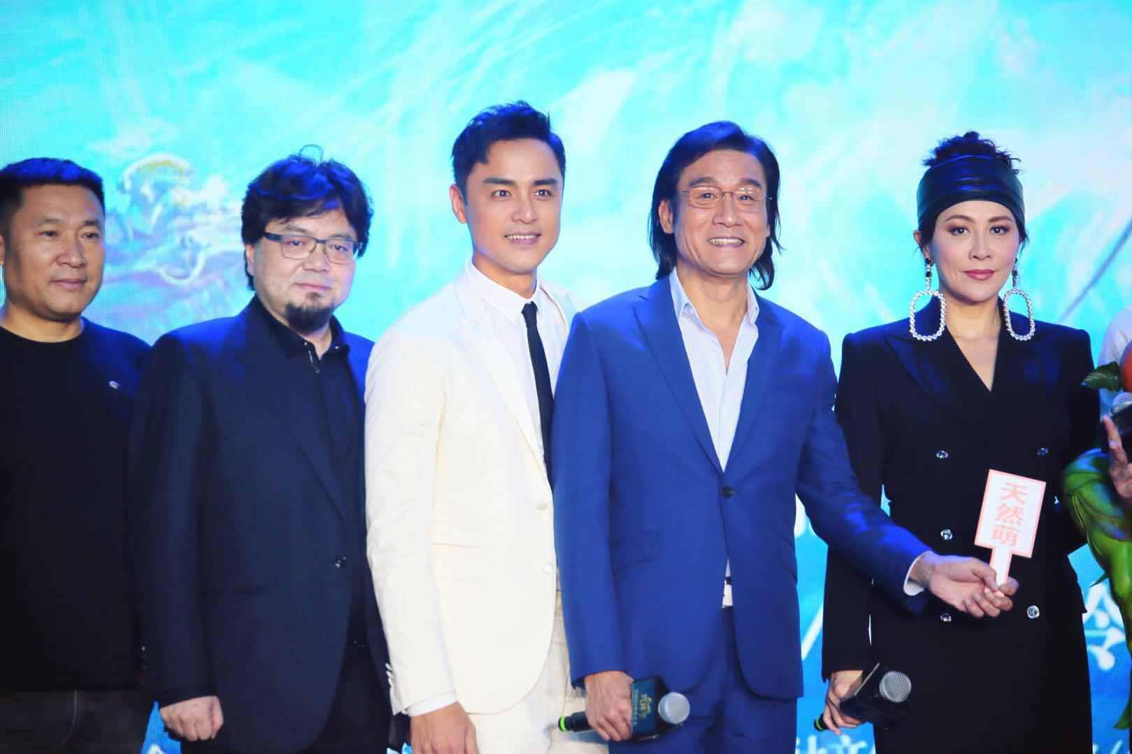 明道亮相《阿修罗》首映礼 畅聊华语电影工业化
