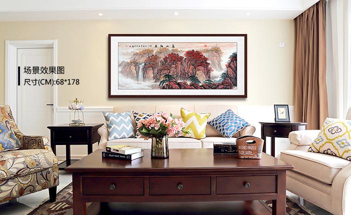 客厅装饰画挂什么好 分享几幅称人心,如人意的挂画