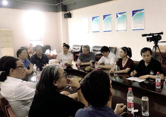 西安美术学院艺术金融博士课程班(第二届)赴潍坊银行进行第二次授课