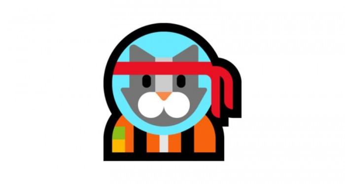 Win10彩蛋:独占Emoji–Astro Cat的照片