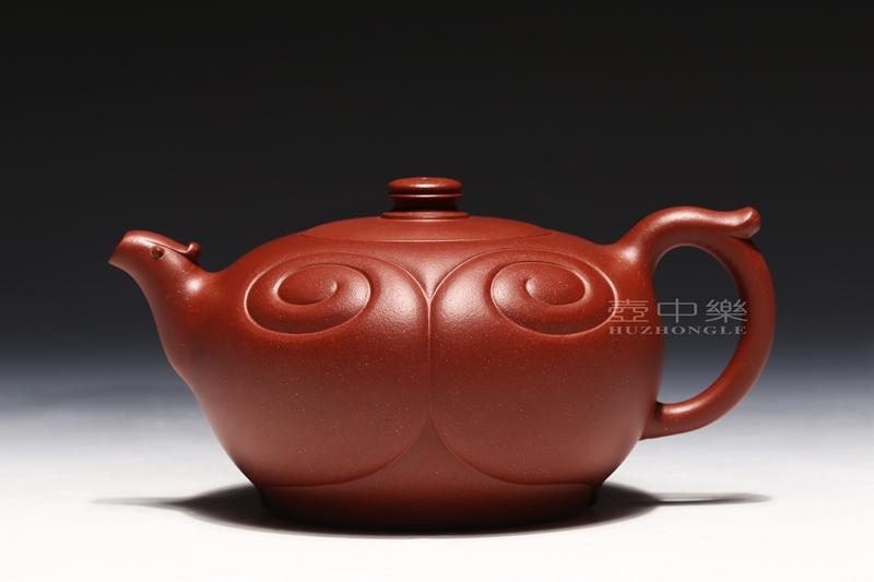 宜兴紫砂壶-张伟军紫砂壶-心心相印-趣淘壶