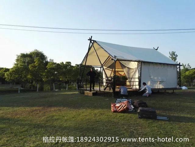 野外帐篷酒店—带给你久违野外大自然体验