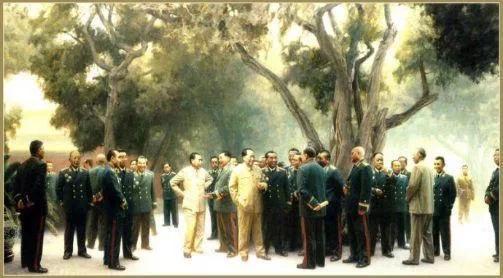 十大元帅十大将军排名,十大元帅最初名单上还有他们四位 网络快讯 第6张