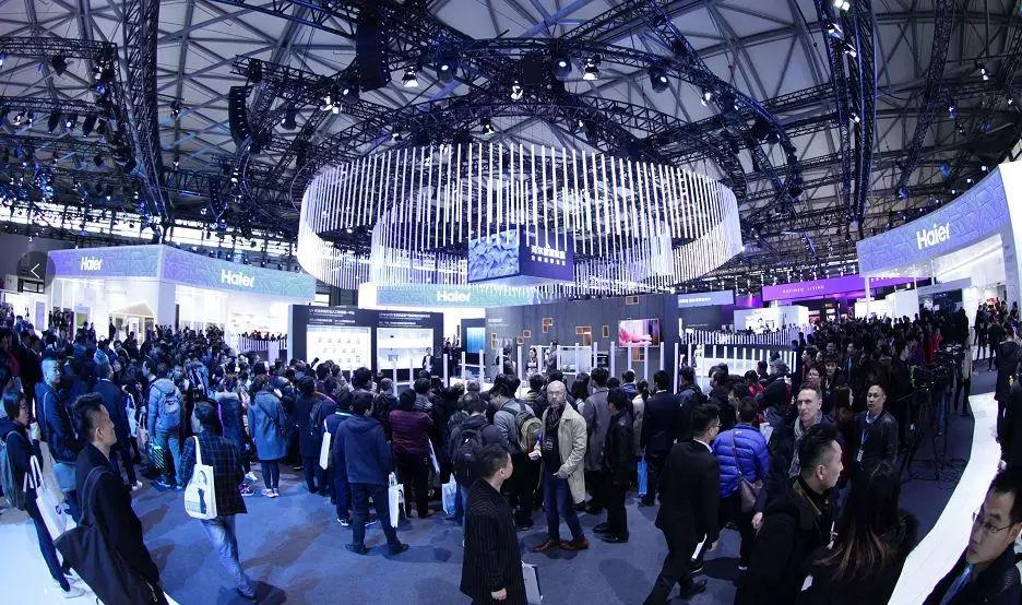 """2019年上海家电展""""智慧生活 全球平台"""""""