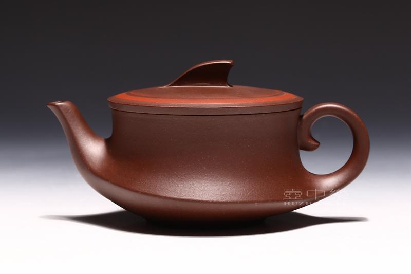 宜兴紫砂壶-研高鲍正兰紫砂壶-之泉壶-趣淘壶