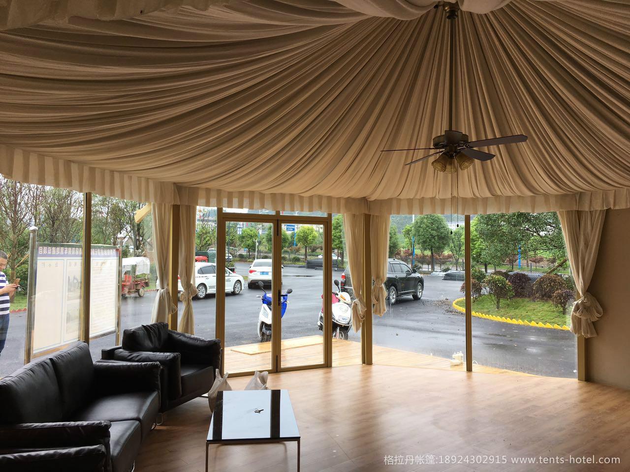 酒店帐篷流行吗?如何看待国内帐篷酒店发展趋势
