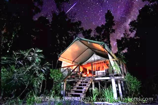 世界上那些极具特色的国外帐篷酒店,你最想睡谁?