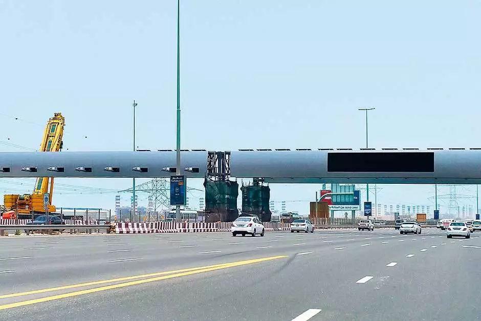 迪拜生活、迪拜RTA花式收费,Salik收费站来啦