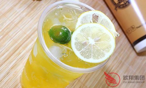 茶饮的一次变革是欧翔餐饮集团——谜巷茶饮
