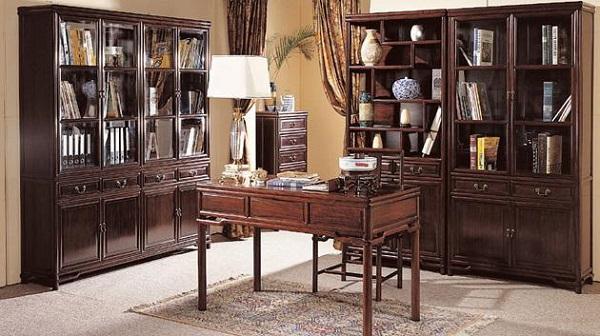 分享红木书房家具的感觉 红木书房家具怎么样