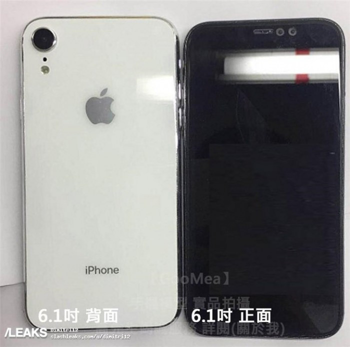 玻璃后盖+窄边框刘海屏:6.5与6.1英寸iPhone新品真机曝光的照片 - 3
