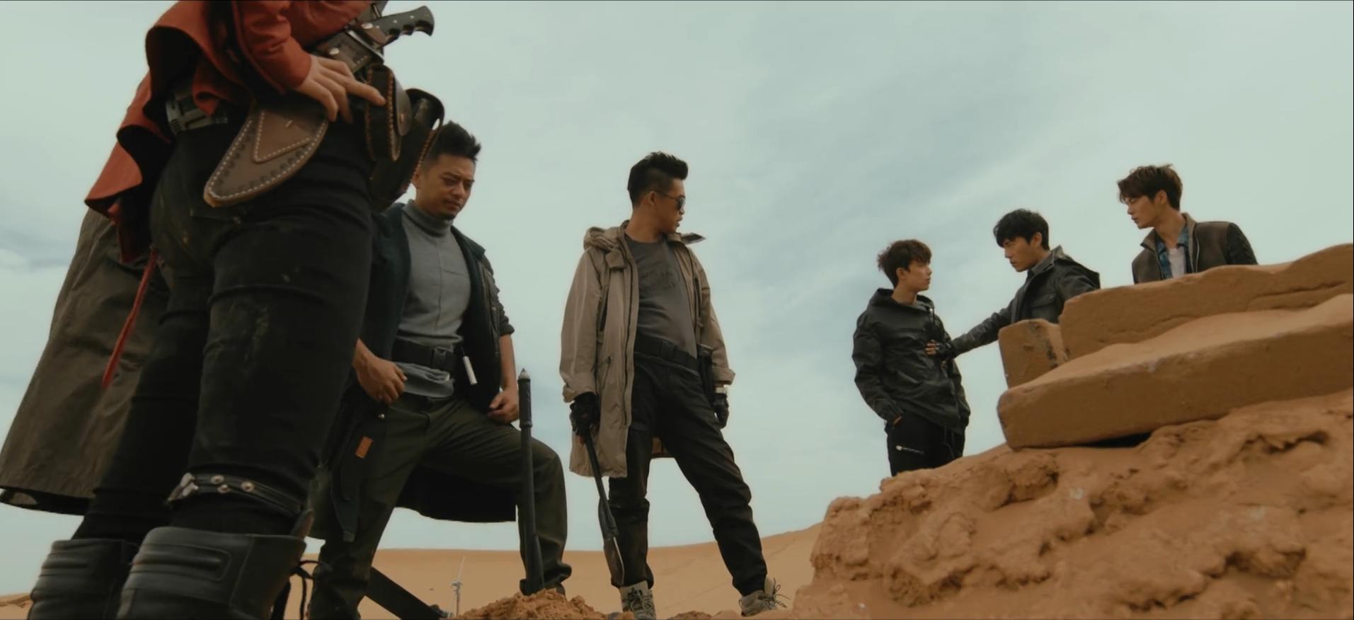 不靠颜值靠演技,《沙海》中的吴磊在这几个方面表现出色的照片 - 7