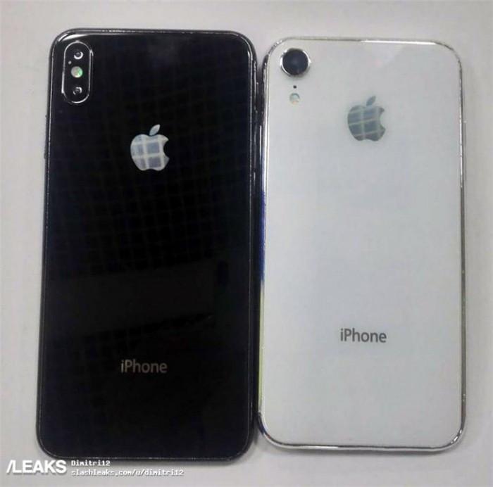 玻璃后盖+窄边框刘海屏:6.5与6.1英寸iPhone新品真机曝光的照片 - 2