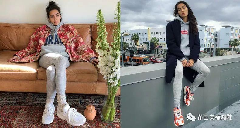 First line Korean beauty DJ Soda sneakers in the summer