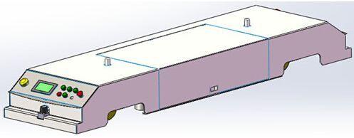 AGV激光导航自动化物流仓储机器人