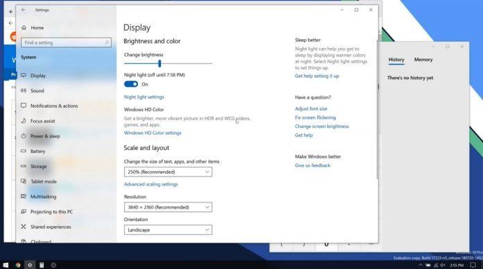 Win10 RS5修复BUG:更改分辨率后保持窗口原有尺寸的照片 - 1