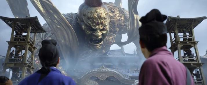 《狄仁杰之四大天王》制作揭秘,仅两场戏的皇宫耗资数百万的照片 - 10