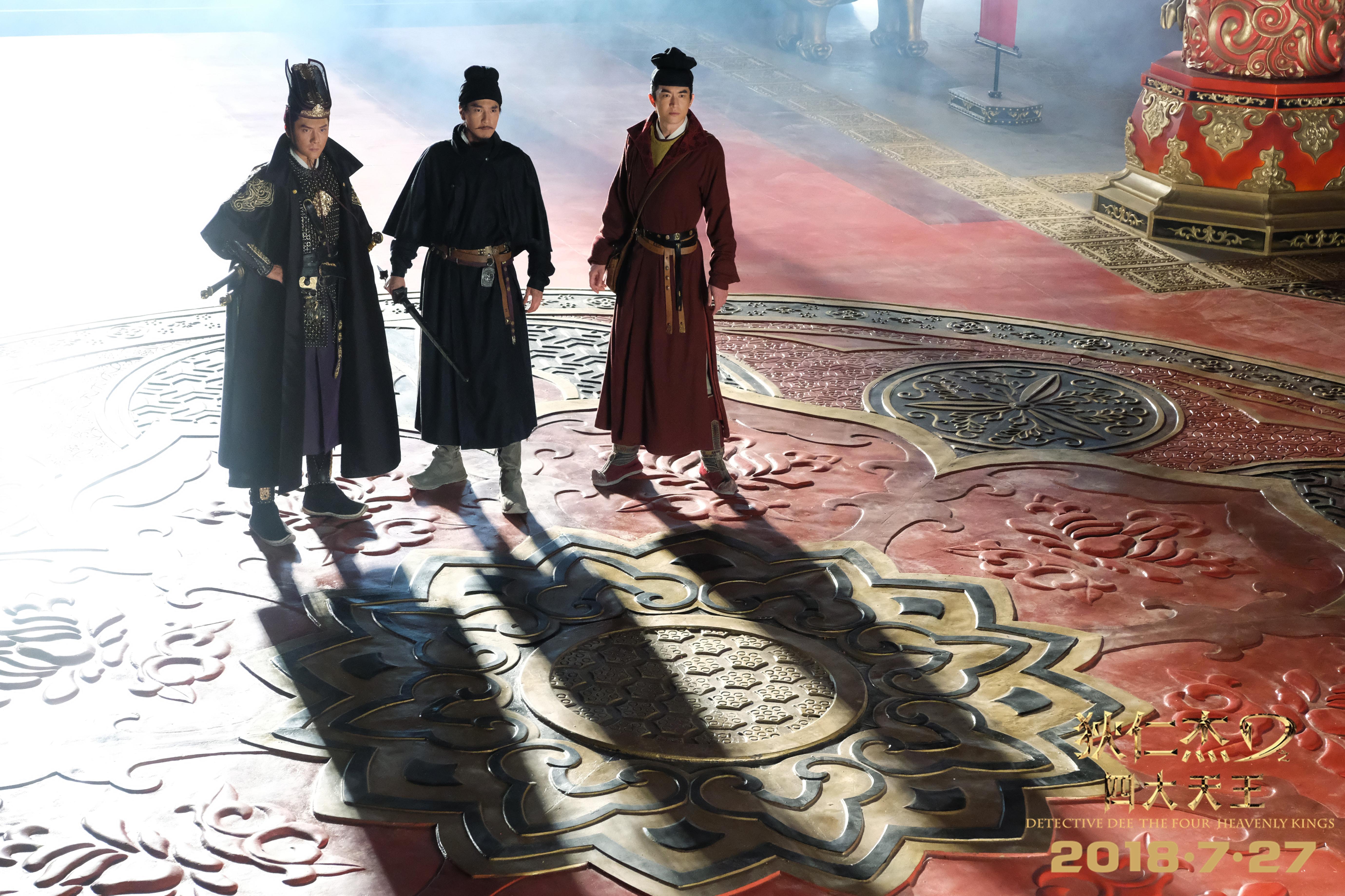 《狄仁杰之四大天王》制作揭秘,仅两场戏的皇宫耗资数百万的照片 - 12
