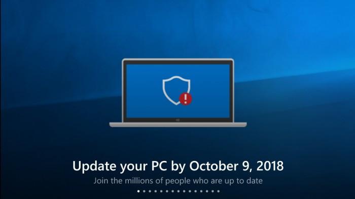 离退休还2个月 微软已推荐Win10周年更新设备尽快升级的照片 - 1