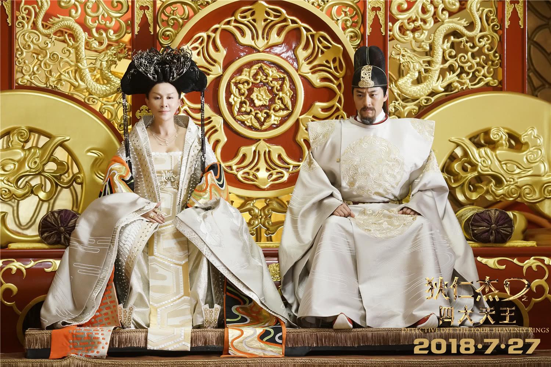 《狄仁杰之四大天王》制作揭秘,仅两场戏的皇宫耗资数百万的照片 - 11