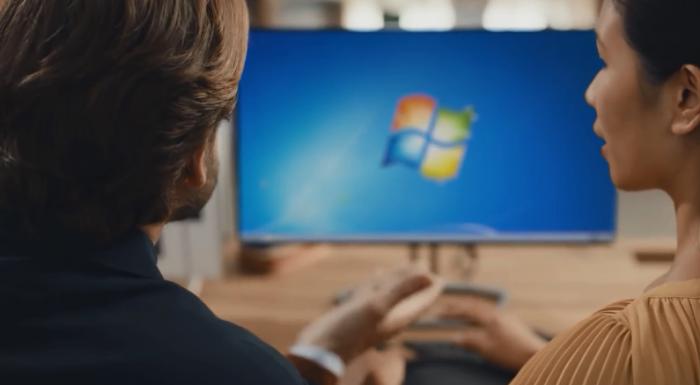 微软发布新视频建议用户尽快从Win7转投Win10的照片