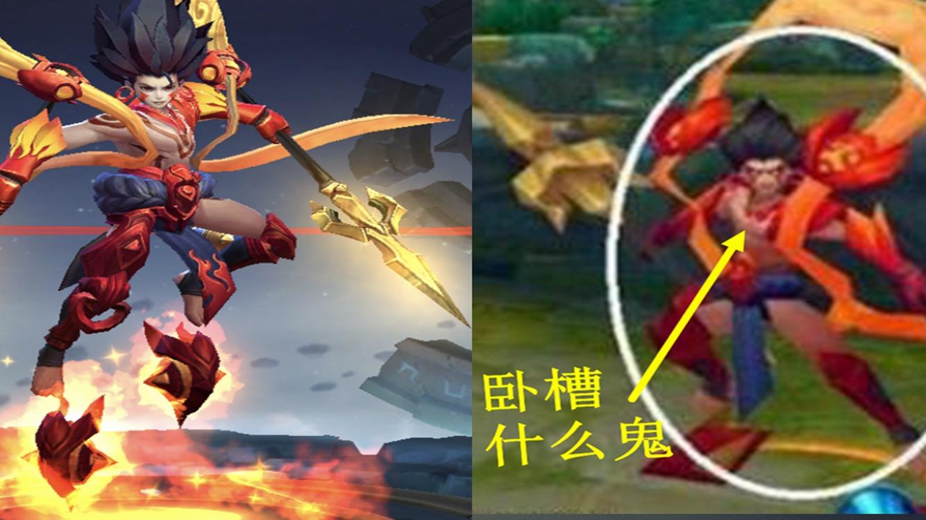 王者榮耀:6大英雄3D影像亮瞎眼,哪吒你確定你原來是個神仙?