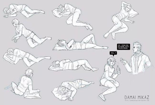 动漫人体动作怎么画不僵硬?