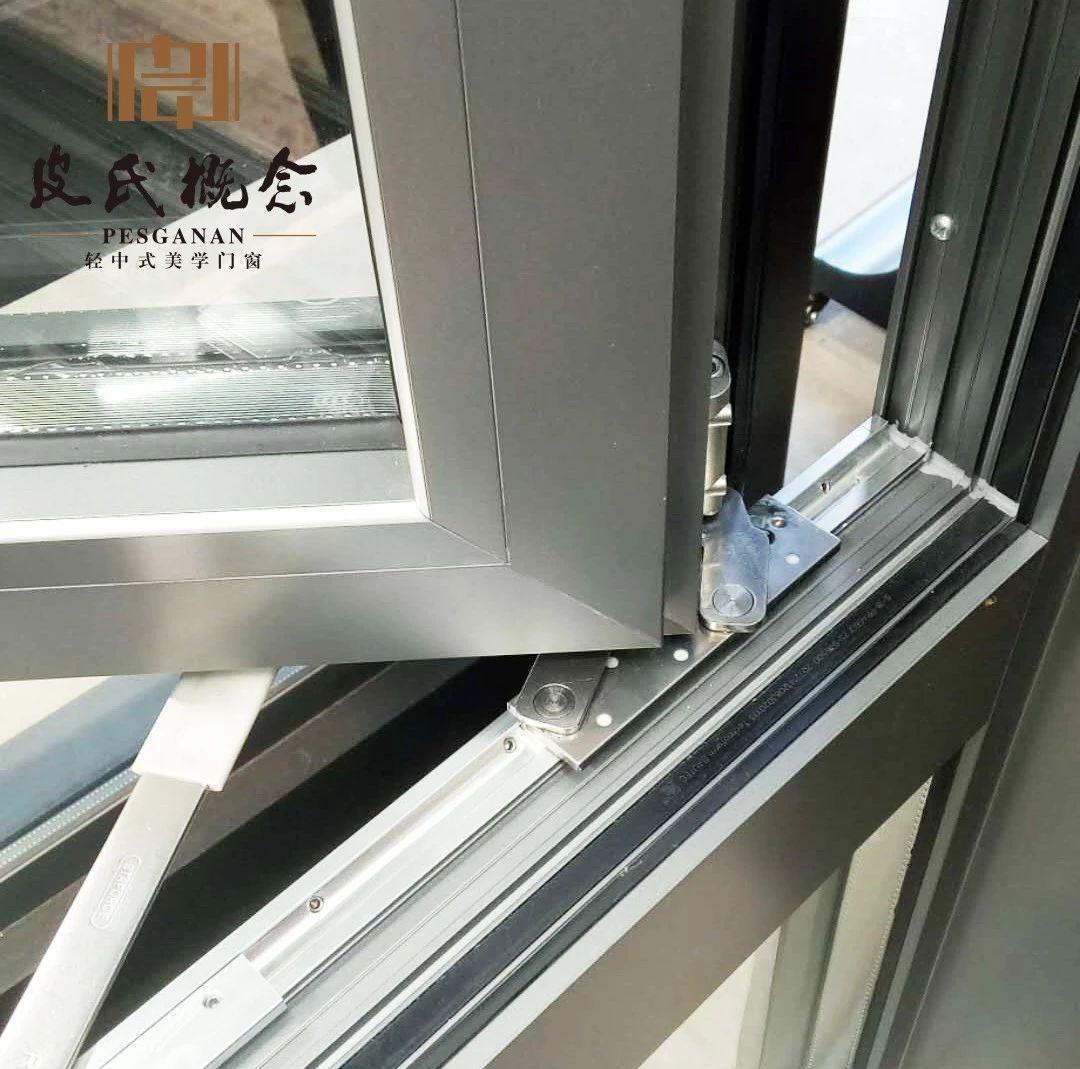 门窗隐形合页 门窗防水性