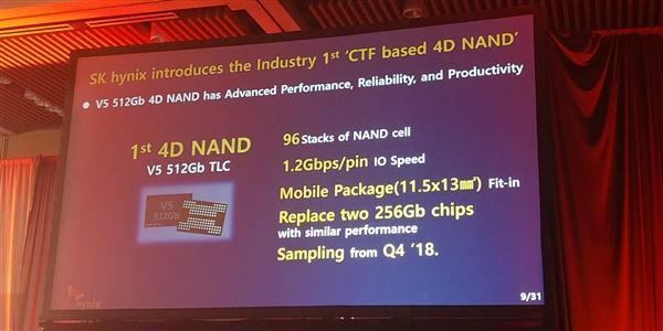 SK海力士宣布业内首款4D闪存:512Gb TLC、年末出样的照片 - 2