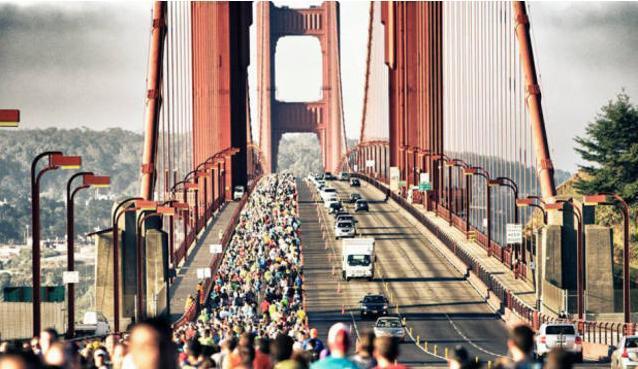 旧金山跑马坡陡弯急阻碍多,但有索尼 NW-WS623的勇者PB还是很能打