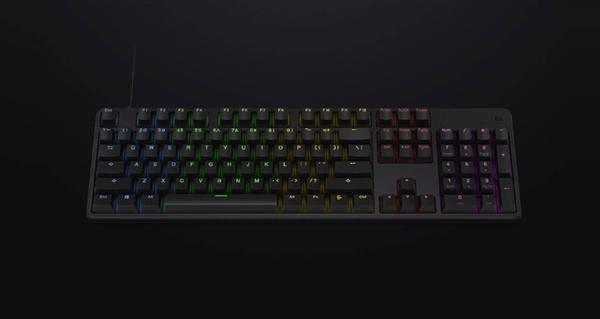 229元 小米游戏键盘上架:全新轴体、RGB动态背光的照片