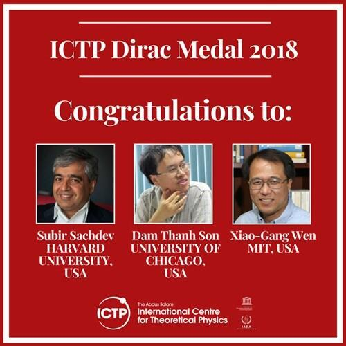 华人科学家摘得狄拉克奖章,系理论物理界最高殊荣