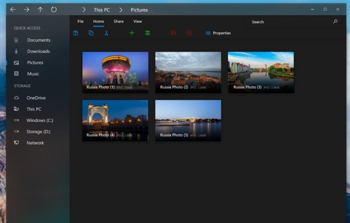 Win10资源管理器将采用更多Modern和Fluent设计元素的照片 - 1